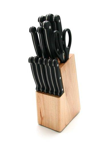 GRÄWE Messerblock 14-teilig CLASSIC mit 6 Steakmessern