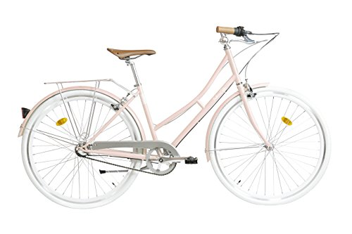 Fabric Cityrad - Hollandrad Damen Fahrrad, Shimano Inter 3-Gang, 4 Farben, 14 Kg (Pink Shoreditch)