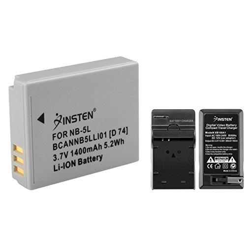batería canon nb-5l fabricante INSTEN