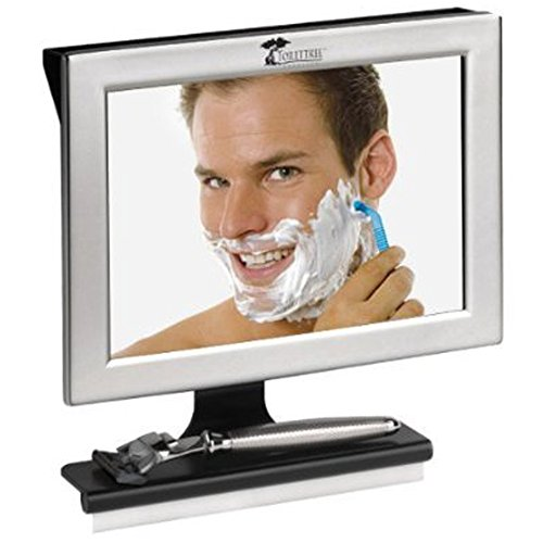ToiletTree Products Fogless Shower Mirror with -