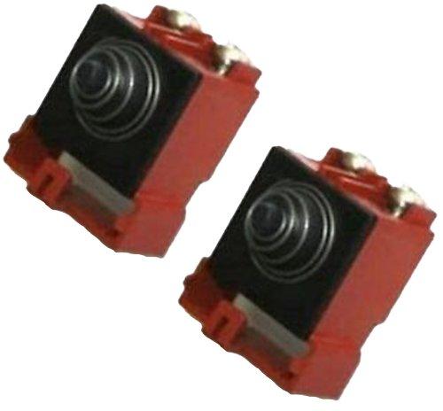 Dewalt Paquete de 2 interruptores de repuesto originales OEM # 641889-00SV-2PK