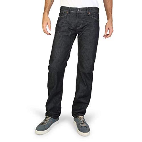 Diesel Herren Waykee Regular Straight Leg Jeans 0088Z - Blau - 32W / 30L