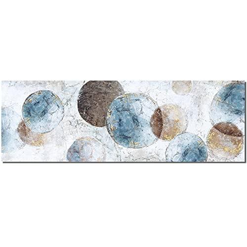 Cuadro Modernos Sin marco Burbuja abstracto Lienzo Pintura Póster Cartel HD Impresión de Imagen cuadros decorativos Decoración de la pared del dormitorio de la sala de estar 50 * 150 cm