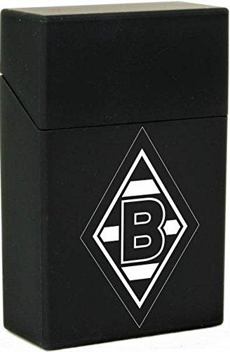 Rubber Box Zigarettenbox schwarz VfL Borussia Mönchengladbach