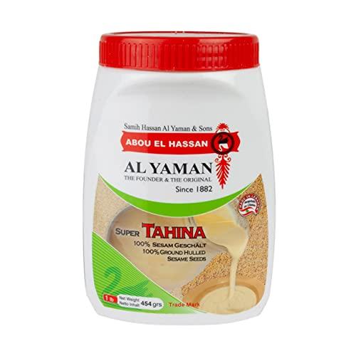 Tahina (crème de sésame) Alyaman 454g