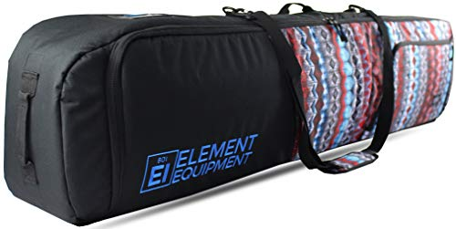 Element Equipment Deluxe Padded Snowboard Bag - Premium High End Travel Bag Aztec 157