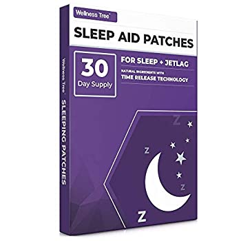 Natural Sleep Aid Patches - Sleep Aid with Melatonin 5-HTP and Magnesium Natural Ingredients to Promote Tranquil Sleep and aids Jet lag