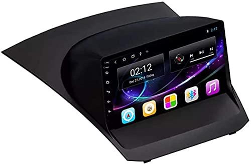 Navegación GPS Android 10.0 Radio para Ford Fiesta 2009-2017 Navegación GPS Unidad Principal de 9 Pulgadas Pantalla táctil HD Reproductor Multimedia MP5 Video con WiFi DSP SWC Mirrorlink