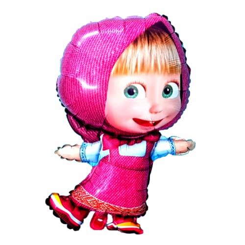MaschaFolienballon Kindergeburtstag...