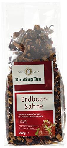 Bünting Tee Erdbeer-Sahne 200 g lose (1 x 200 g)