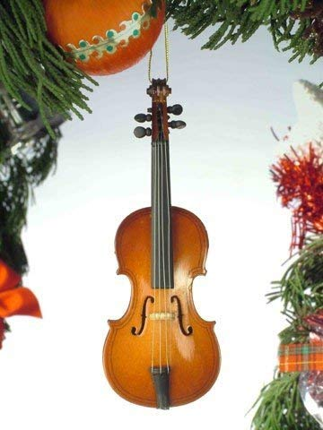 5' Cello Musical Music Instrument Replica Hanging Ornament