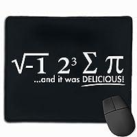 数学のユーモアオフィスマウスパッドゲーミングマウスパッド滑り止めラバーバッキング性格パターン