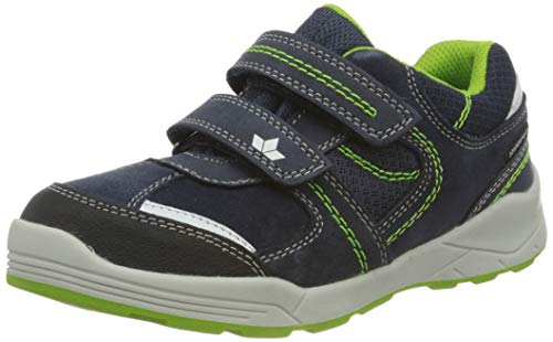 Lico Ashoka V Jungen Sneaker, Marine/ Lemon, 31 EU