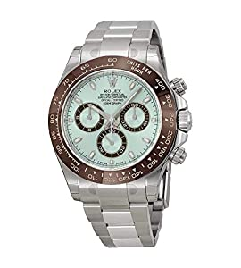 Rolex Cosmograph Daytona Ice Blue Dial Platinum Mens Watch 116506IBLSO image