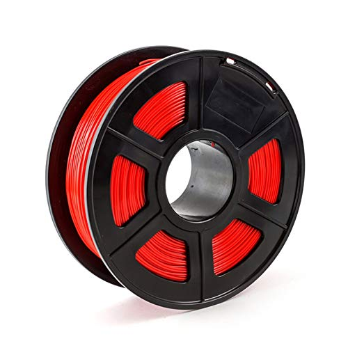 for 3D Printer Filament PETG 1.75mm 1kg/2.2lbs Plastic Filament Consumables PETG Material for 3D Printer (Color : Red)
