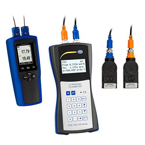 PCE Instruments Ultraschall Durchflussmessgerät PCE-TDS 100H+ inkl. Wärmemengenzähler
