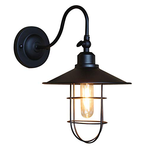 WANQINV European Style Outdoor Wall Light, Villa Garden Wall Lamp, Retro European Style, Aisle Garden, Waterproof Gate Wall Lantern, Decorative Lighting