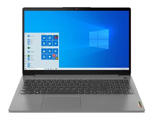 Lenovo IdeaPad 3 - Ordenador Portátil 15.6' FullHD (AMD Ryzen 7 5700U, 16GB RAM, 512GB SSD, AMD Radeon Graphics, Windows 10 Home) Gris - Teclado QWERTY Portugués