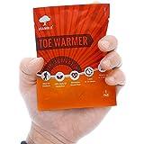 BRAMBLE! 40 Pares Premium Calentadores de Pies - Foot Warmers Adhesivos | 8-10 Horas de Calor Calmante | Ambientalmente Seguro, Inodoro, Activado por Aire - Oxidación 100% Natural