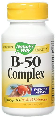 Nature's Way - B-50 Complex 100 caps [Pack of 3]