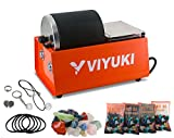 VIYUKI Professional Electric Rock Tumbler Kit 3LB Rock Polisher