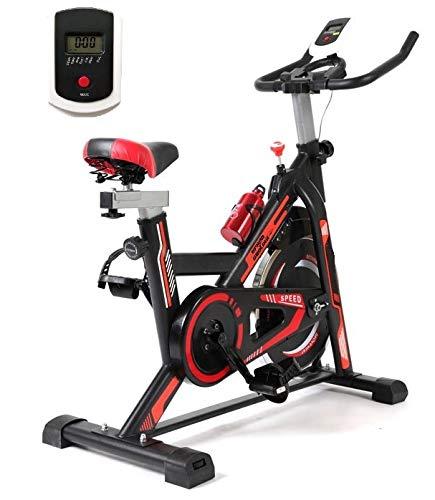 Grupo Contact Bici Ciclo Indoor TD2000 Transmisión por Correa, con Display (Rueda 13 kg.)
