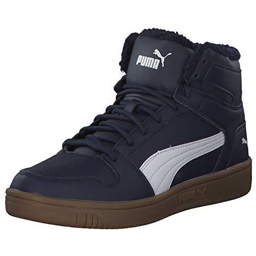 Puma Rebound Herren Sneaker 369830 Puma Blue Puma White 45 EU