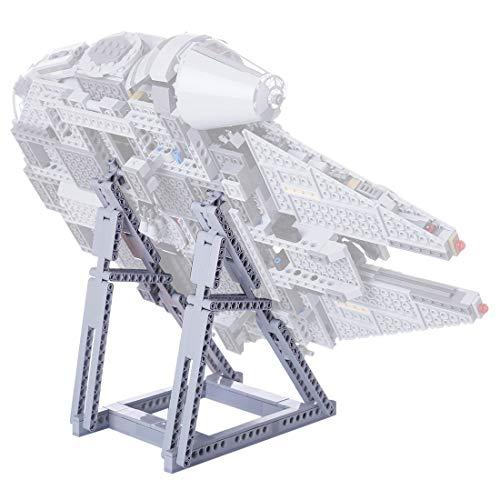 LYCH Lego Star Wars - Soporte para juguetes de construcción del Halcón Milenario para Lego 75257 (solo incluye soporte, no incluye el kit Lego)