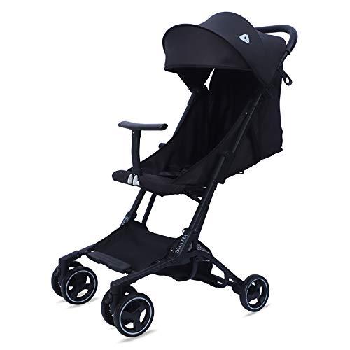 SHaHa Umbrella Stroller for Toddler Lightweight Foldable Size 43x40x23 cm Black