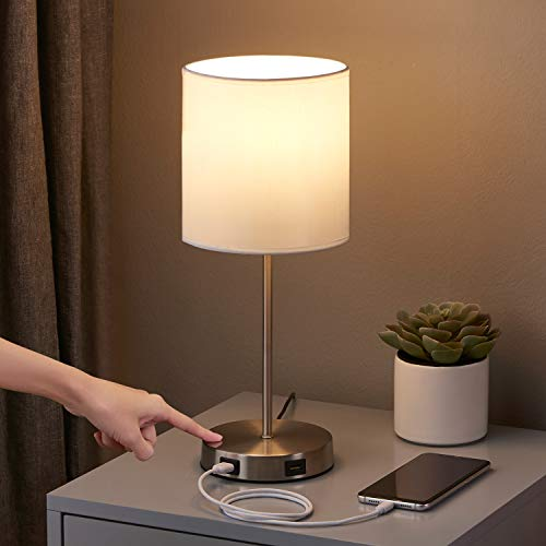 Touch Control Table Lamp with 2 ...
