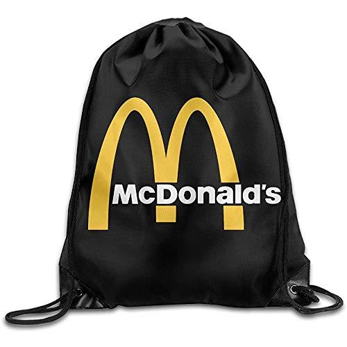 McDonalds 90Er Logo Drawstring Rucksack Sack Bag