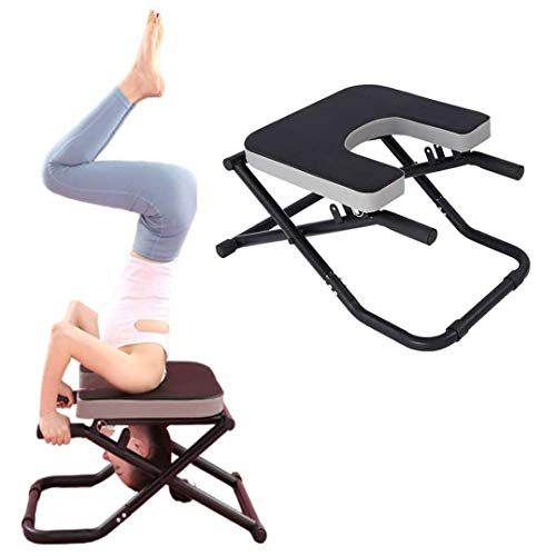 Why Choose ZXGFA Yoga Headstand Bench, Yoga Stool, Yoga Inversion Chair, Fitness Trainer Stool Chair...