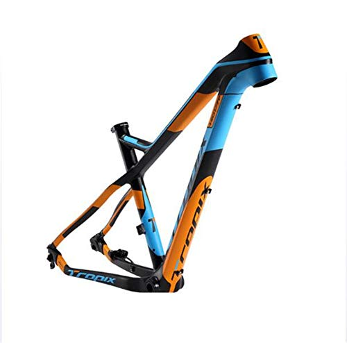 SHIYANLI Carbon Mountain Bike Off Road Frame 27.5er 142mm12mm Thru axle Bicycle Frame T800 Carbon Fibre 15 17inch bb90 650B MTB xc 2020 New,27.515inch