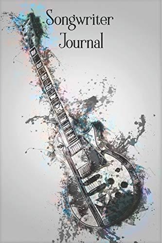 Songwriter Notizbuch: Musiker Notebook / Tagebuch für deine Songtexte und Ideen – 120 Seiten – ca. DIN A5 – Liniert