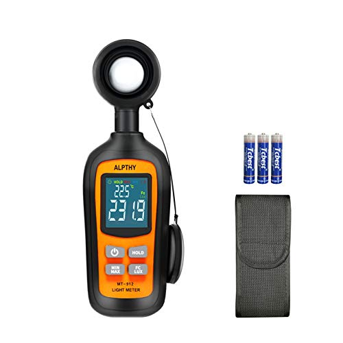 ALPTHY Light Meter Lux Meter Digital Illuminance Light Meter for