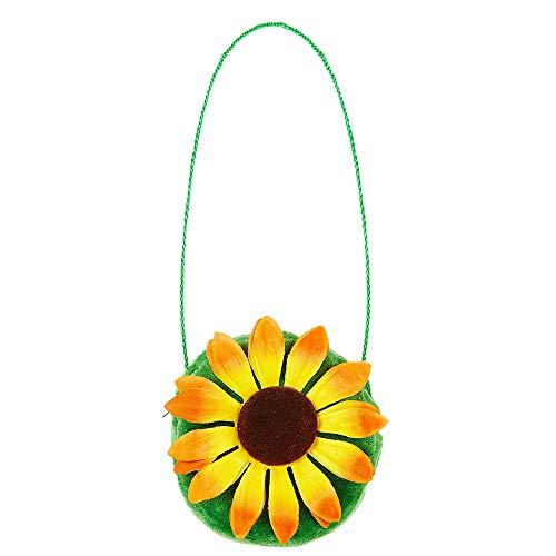 Widmann 05848 Handtasche Sonnenblume, Unisex– Erwachsene, Mehrfarbig, one size