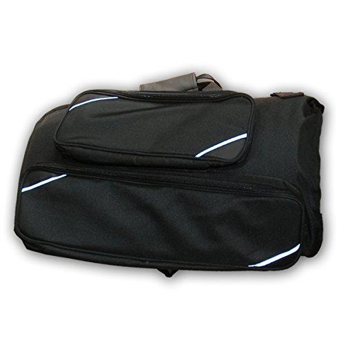 Gigbag für Flügelhorn (für Flügelhörner mit Dreh- und Pumpventilen gleichermaßen geeignet) Soundman Koffer Etui Tasche