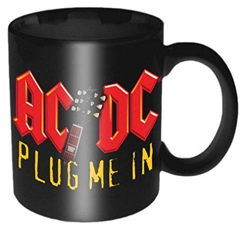 Empire Merchandising 693433 AC/DC Plug Me cerámica Taza de tamaño, d