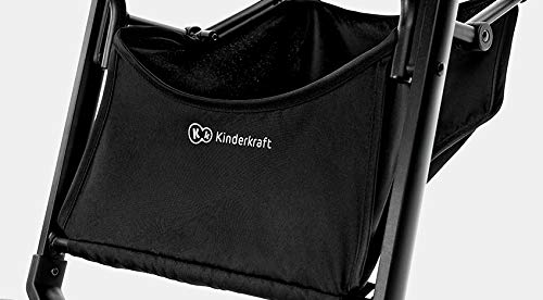 Kinderkraft Pilot light stroller, buggy stroller, child buggy, folding KinderKraft An innovative folding system, with a shoulder strap for easy transport The set contains: Modern barrier, shopping basket under the seat, foot protection, rain cover and cup holder. High quality stored, rubber wheels - all muffled. 14