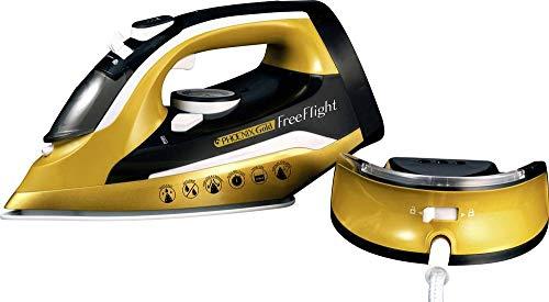 Mediashop Phoenix Gold® Free Flight Dampfbügeleisen Gold, Nero 2400W
