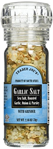 Trader Joe's Garlic Salt with Grinder, 2.46 oz