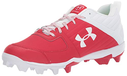 Under Armour Men's Leadoff Low Rm Running Shoe, Red (600)/White, Numeric_10_Point_5