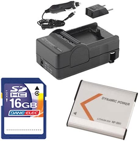 Sony DSC-W830 Online limited product Digital Camera Accessory Me Kit Washington Mall Includes: SD4 16GB
