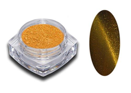 Cat Eye magnétique Pigment poudre dans 12 couleurs au choix Nail Art Glitter Paillettes Design RM Beautynails