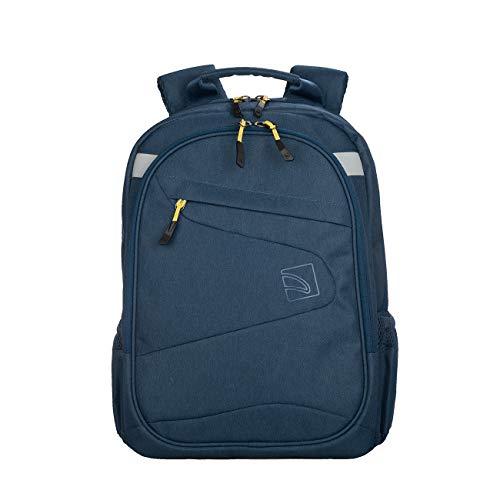 Tucano-Rucksack im sportlichen Design geeignet für die Arbeit, für 13 und 14 Zoll PCs und 15 Zoll MacBook. Gepolsterte Taschen für Laptops, Tablets und iPads. Damen Herren, für Büro und Universität