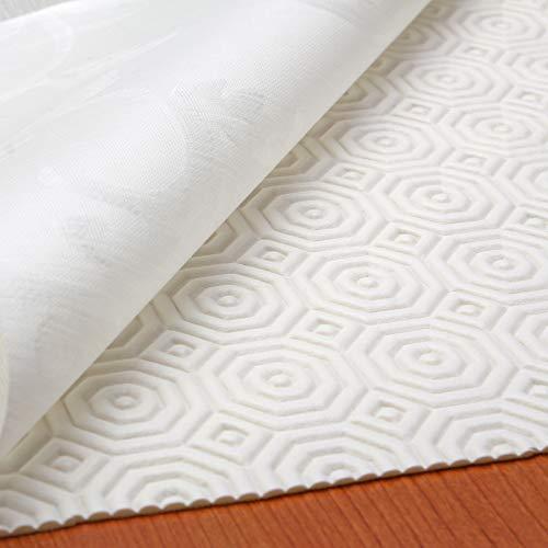 Tischdeckenunterlage Tischschoner Schutzunterlage Tischpolster Schutz Unterlage Tischdecke Meterware Größe Wählbar Weiß (160 x 140 cm)