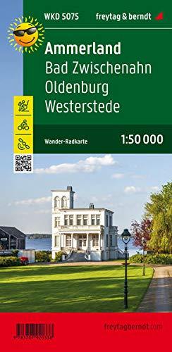Ammerland, Bad Zwischenahn, Oldenburg, Westerstede, Wander + Radkarte 1:50.000 (freytag & berndt Wander-Rad-Freizeitkarten)