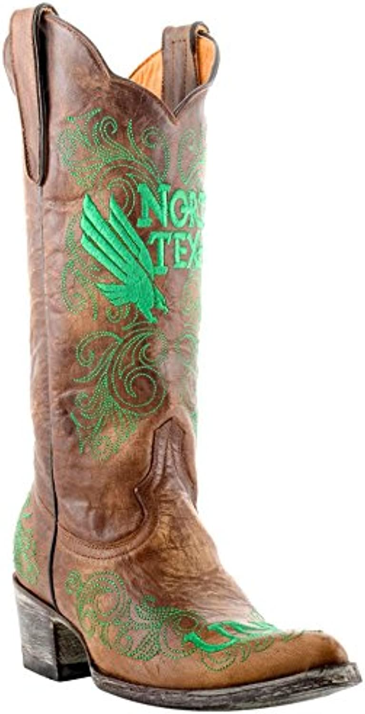 NCAA Womens Ladies 13 inch University North Texas Gameday Boot