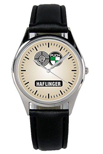Geschenk für Steyr Puch Haflinger Oldtimer Fans Fahrer Kiesenberg Uhr B-1158