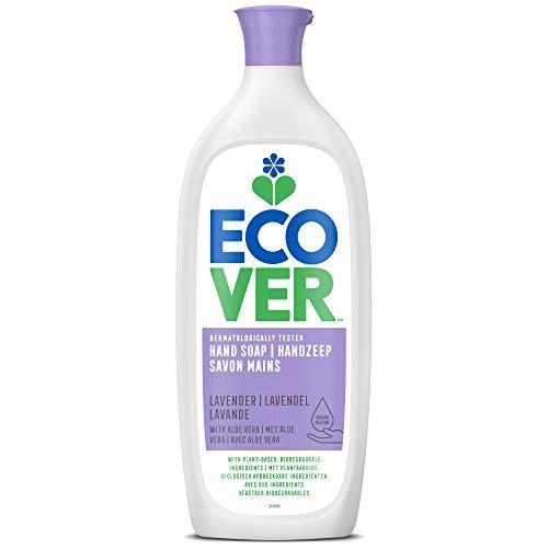 Ecover Savon Mains Parfum Lavande | Origine Naturelle Éco-Responsable | Pour Une Peau Ultra Douce | 1L